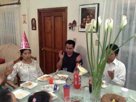 Eli, la festejada por sus 2x años